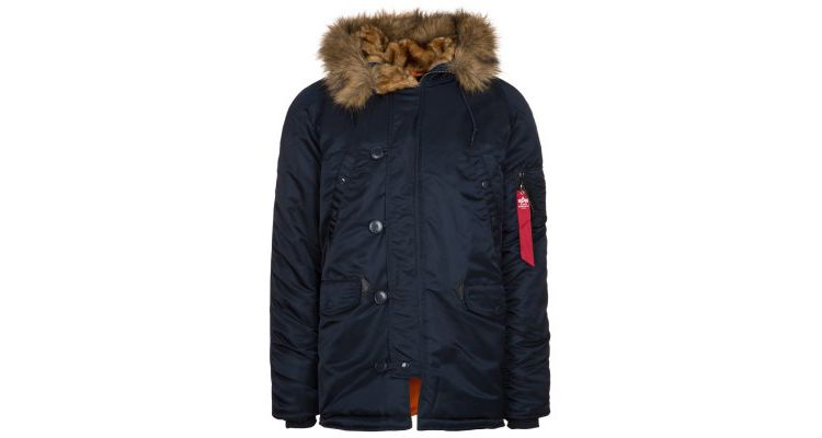 PRODUCT_IMAGE Alpha Industries Winterjas blue