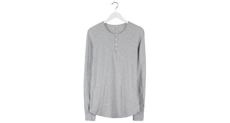 PRODUCT_IMAGE American Apparel BABY THERMAL Longsleeve heather grey