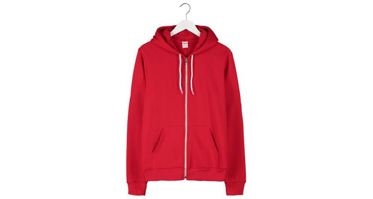 PRODUCT_IMAGE American Apparel Sweatvesten red