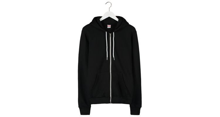 PRODUCT_IMAGE American Apparel Sweatvesten black