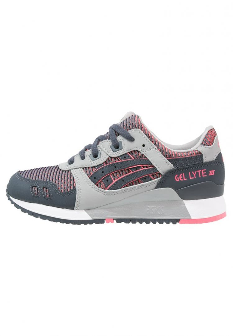 PRODUCT_IMAGE ASICS GELLYTE III Sneakers laag medium grey/guava