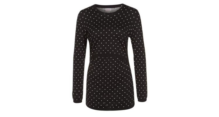 PRODUCT_IMAGE Boob Trui black/offwhite dot