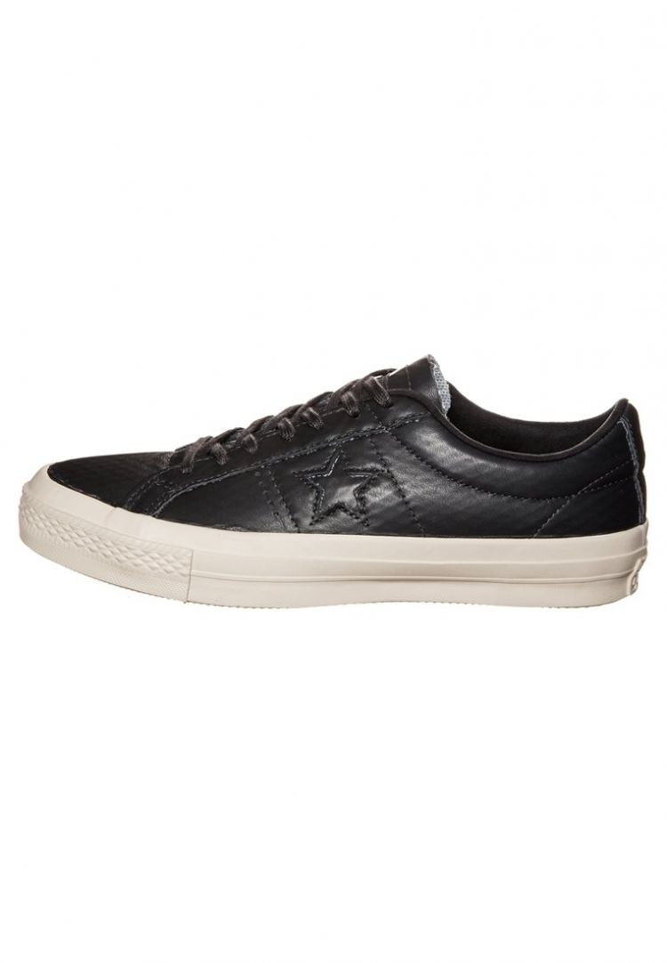 PRODUCT_IMAGE Converse CONS ONE STAR OX Sneakers laag almost black/black/parchment