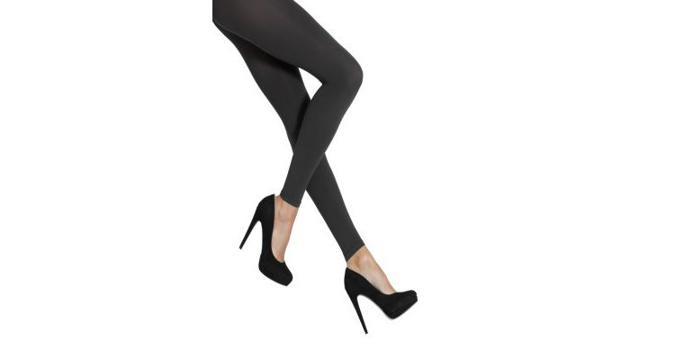 PRODUCT_IMAGE Falke WARM DELUXE Legging anthracite new