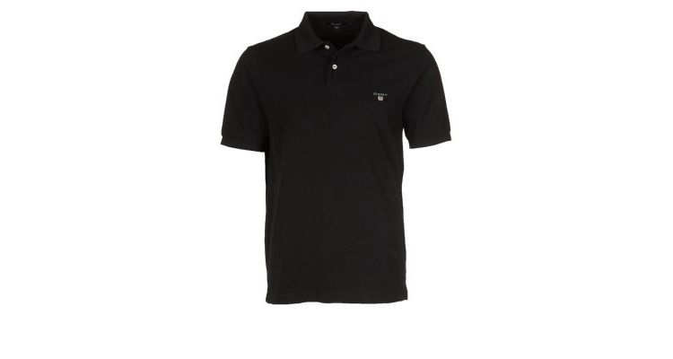 PRODUCT_IMAGE GANT REGULAR FIT Poloshirt black