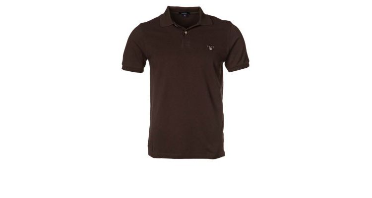 PRODUCT_IMAGE GANT REGULAR FIT Poloshirt dark brown