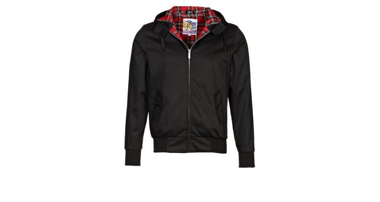 PRODUCT_IMAGE HARRINGTON Korte jassen black