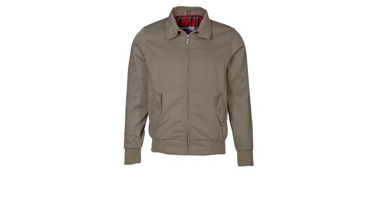 PRODUCT_IMAGE HARRINGTON Korte jassen beige