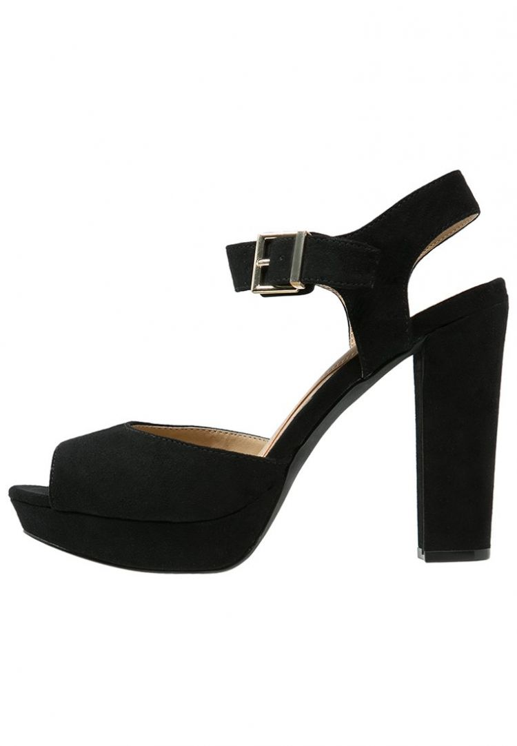 PRODUCT_IMAGE Head over Heels by Dune MYLI Sandalen met plateauzool black
