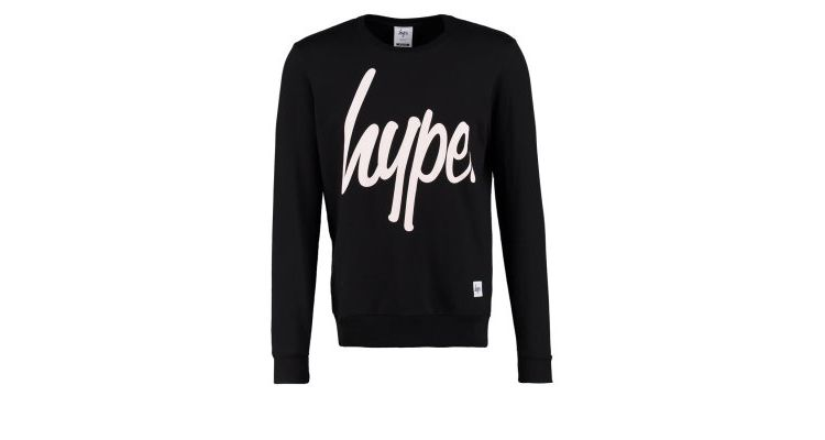 PRODUCT_IMAGE Hype Sweater black/white