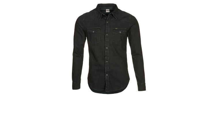 PRODUCT_IMAGE Lee WESTERN SHIRT SLIM FIT Casual overhemd pitch black