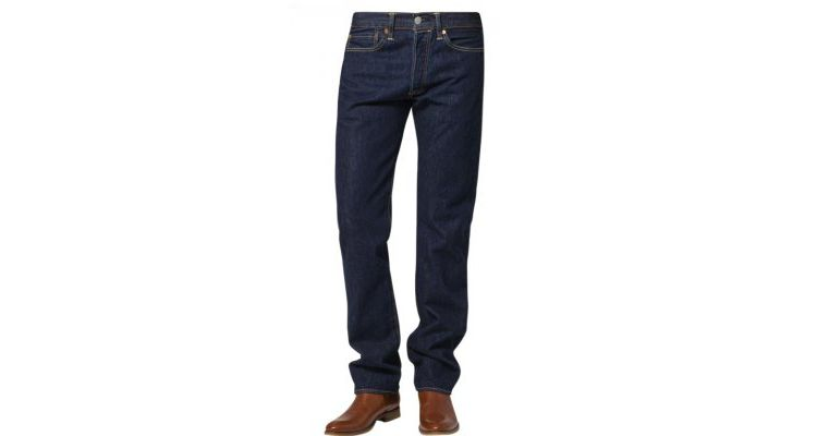 PRODUCT_IMAGE Levis® 501 ORIGINAL FIT Straight leg jeans darkblue denim