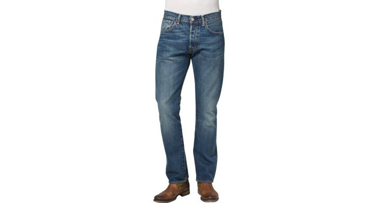 PRODUCT_IMAGE Levis® 501 THE ORIGINAL STRAIGHT Straight leg jeans button fly
