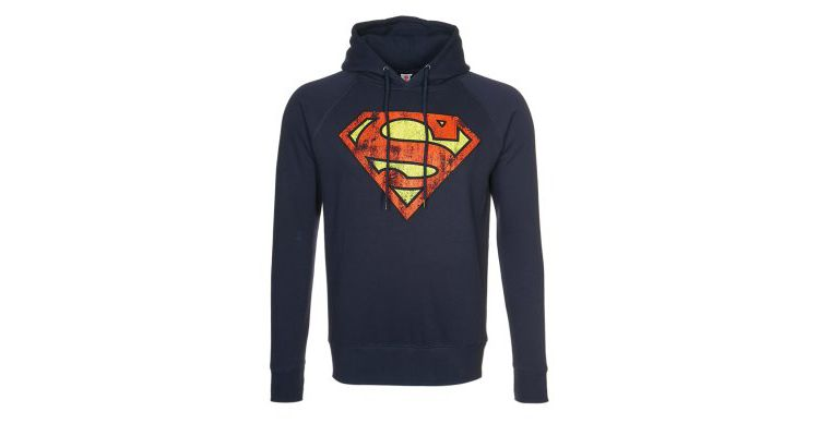 PRODUCT_IMAGE LOGOSHIRT SUPERMAN Sweater navy