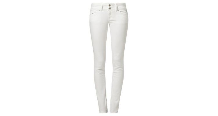 LTB MOLLY Slim fit jeans white