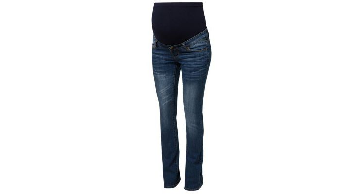 PRODUCT_IMAGE Mama Licious MLFREY Bootcut jeans medium blue denim