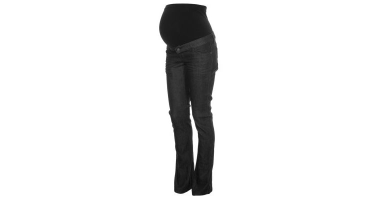 PRODUCT_IMAGE Mama Licious SHELLY Bootcut jeans black denim