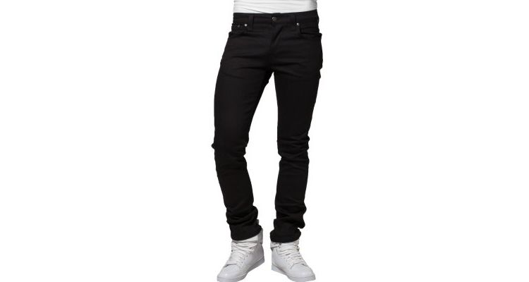PRODUCT_IMAGE Nudie Jeans GRIM TIM Slim fit jeans organic black ring