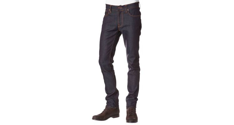 PRODUCT_IMAGE Nudie Jeans THIN FINN Slim fit jeans organic dry ecru embo