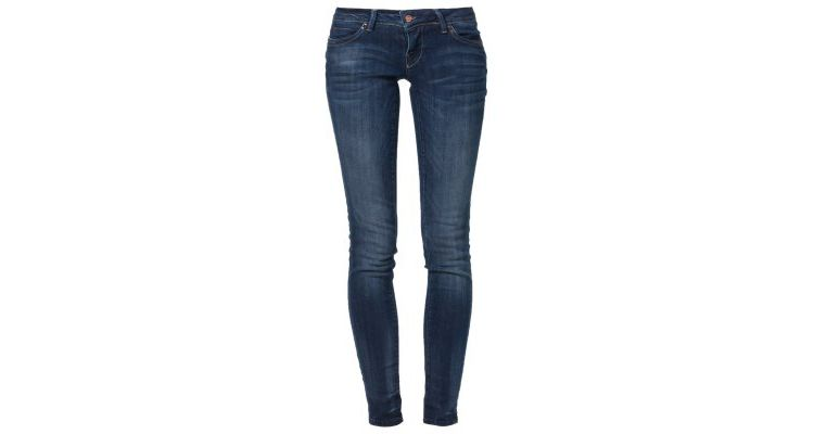 PRODUCT_IMAGE ONLY CORAL Slim fit jeans blue denim