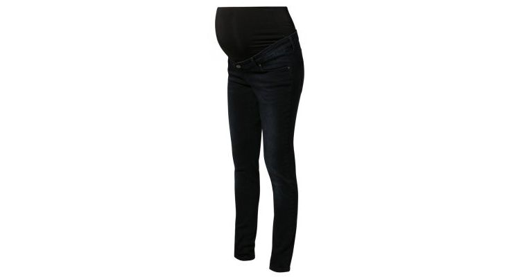 PRODUCT_IMAGE Queen Mum Slim fit jeans dark blue