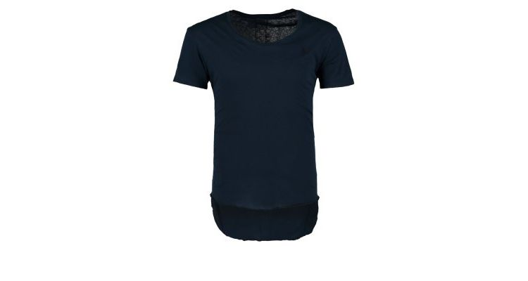 PRODUCT_IMAGE Religion Tshirt print french navy