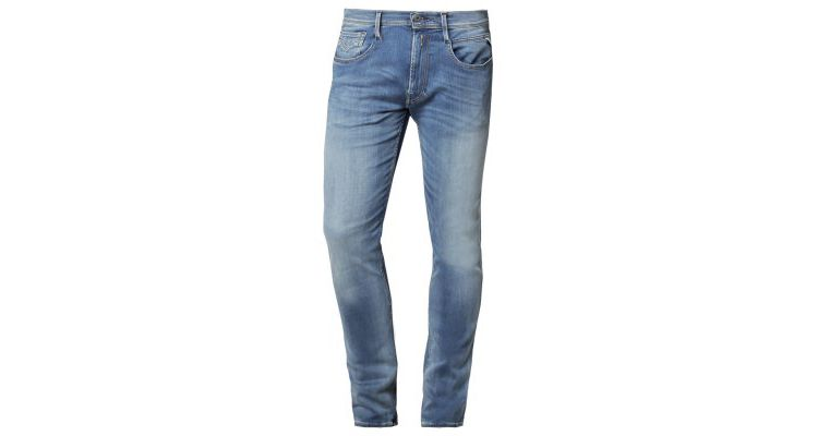 PRODUCT_IMAGE Replay HYPERFLEX ANBASS Slim fit jeans blau