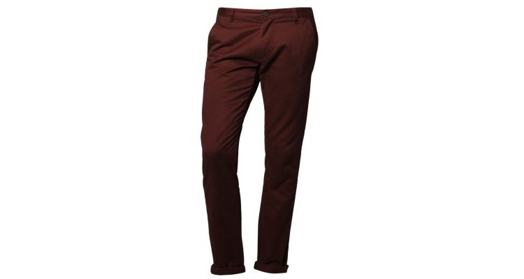 PRODUCT_IMAGE Selected Homme PARIS Chino rum raisin