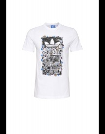 adidas Originals CULTURE CLASH Tshirt print white