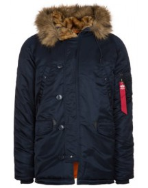 Alpha Industries Winterjas blue