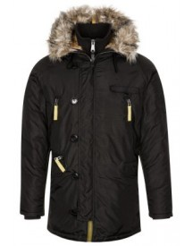Alpha Industries Winterjas black