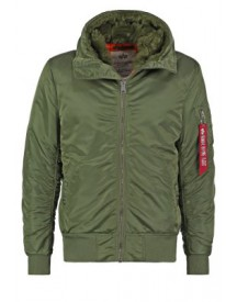 Alpha Industries STANDART FIT Winterjas sage green