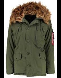 Alpha Industries Winterjas dark green