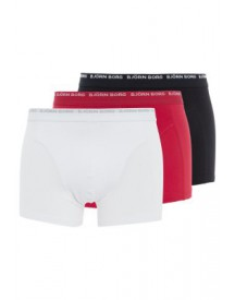 Björn Borg NOOS 3 PACK Hipster true red/white/black