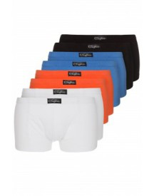 Buffalo 8 PACK Hipster schwarz/weiß/blau/orange