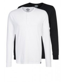 Dickies SEIBERT 2 PACK Longsleeve black/white