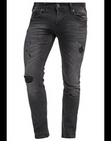fortyfour Slim fit jeans black denim