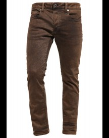 GStar 3301 SLIM COJ Slim fit jeans dark hide brown