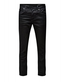 Jack & Jones JJCLARK Straight leg jeans black denim