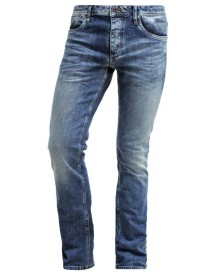 Jack & Jones JJICLARK Straight leg jeans blue denim