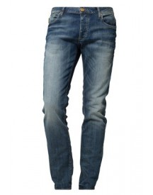 Jack & Jones TIM ORIGINAL Slim fit jeans blue denim