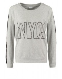 Jacqueline de Yong SUNRISE Sweater light grey melange