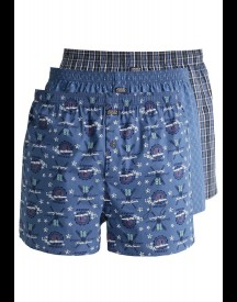 Jockey 3 PACK Boxershort night blue