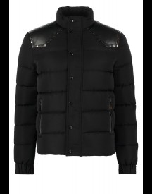 Just Cavalli Gewatteerde jas black