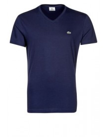 Lacoste REGULAR FIT Tshirt basic navy blue