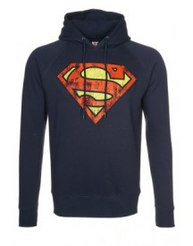 LOGOSHIRT SUPERMAN Sweater navy
