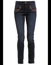 Mos Mosh Straight leg jeans dark blue denim