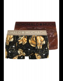 MUCHACHOMALO WILDLIFE 2 PACK Hipster black