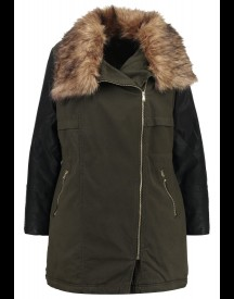 New Look Curves EX SCORE Winterjas dark khaki