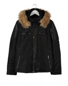 Oakwood Winterjas black